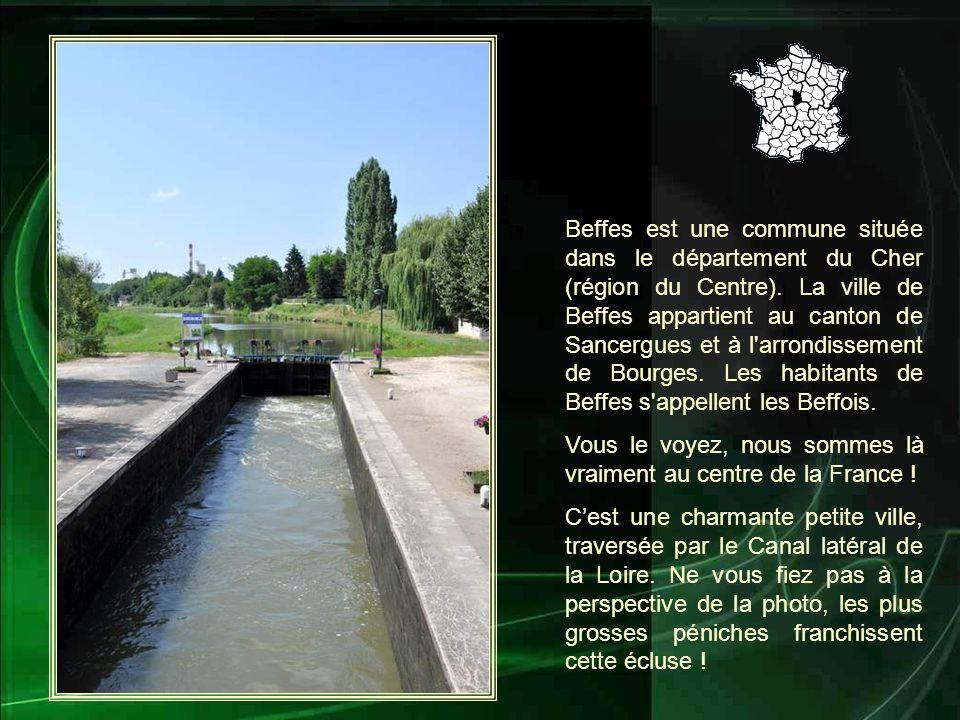Beffes est une commune située dans le département du Cher (région du Centre).