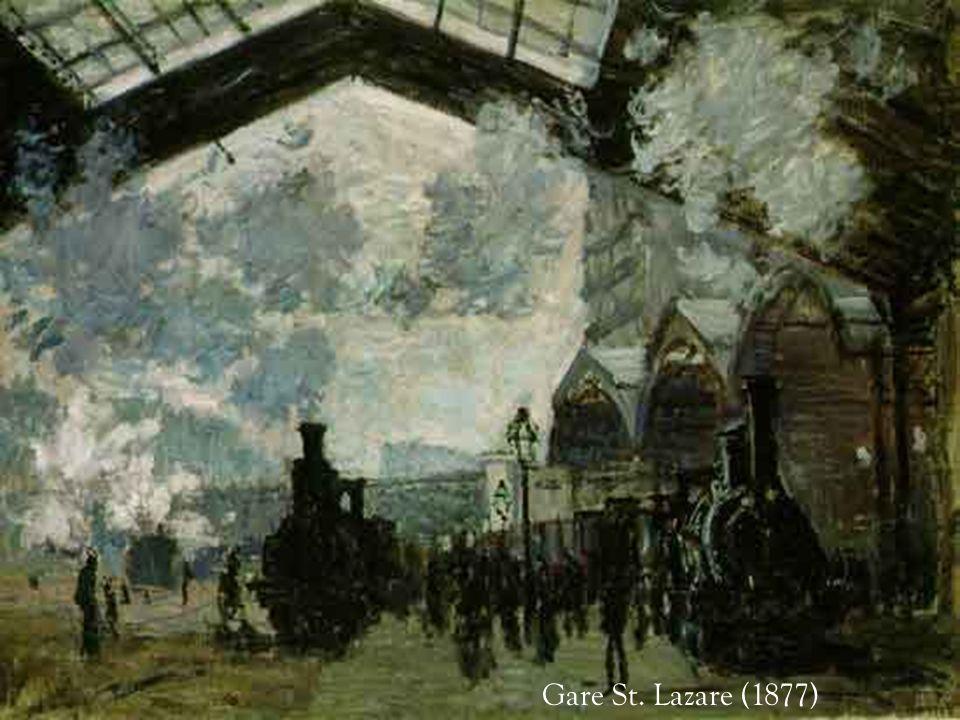 Le Pont de lEurope près de la Gare St. Lazare (1877)