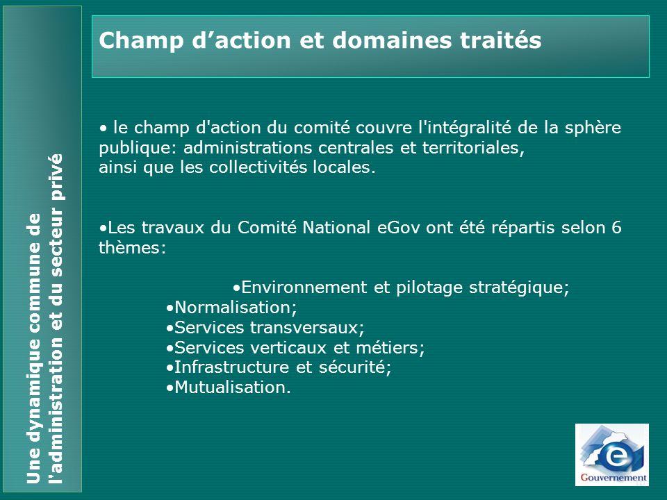 Environnement et pilotage stratégique Plan Stratégique (2005-2008) Cadre réglementaire