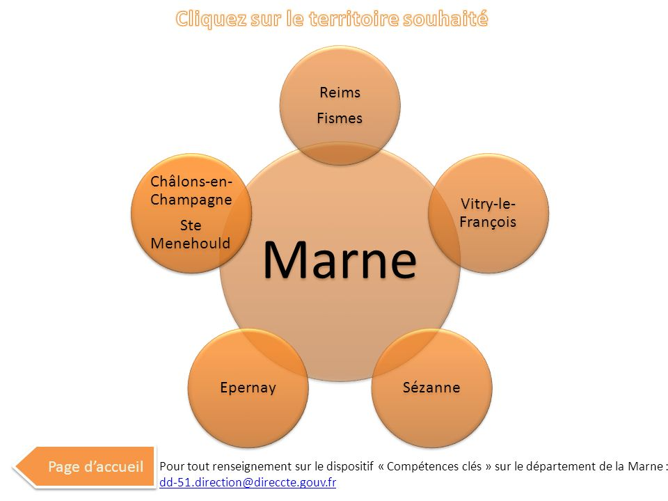 Marne Reims Fismes Vitry-le- François SézanneEpernay Châlons-en- Champagne Ste Menehould Page daccueil Pour tout renseignement sur le dispositif « Com