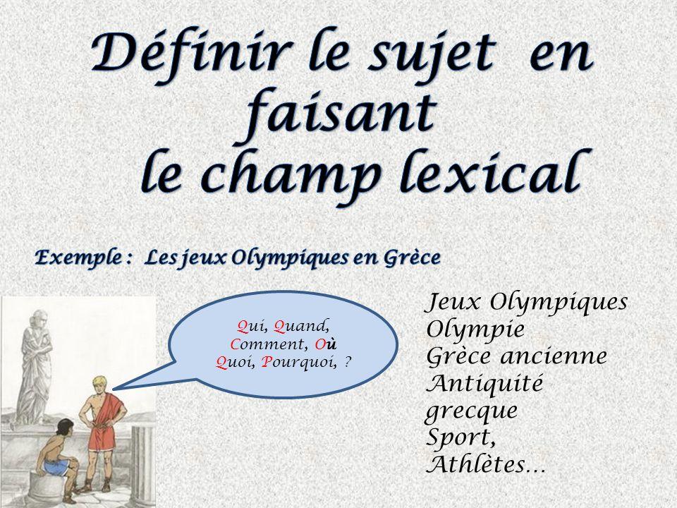 Jeux Olympiques Olympie Grèce ancienne Antiquité grecque Sport, Athlètes… Qui, Quand, Comment, Où Quoi, Pourquoi, ?