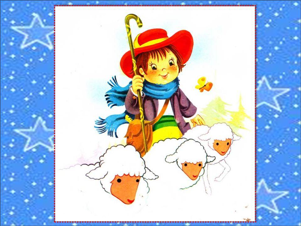 Pablo le petit berger est parti, comme tous les jours, garder ses blancs moutons par les landes.