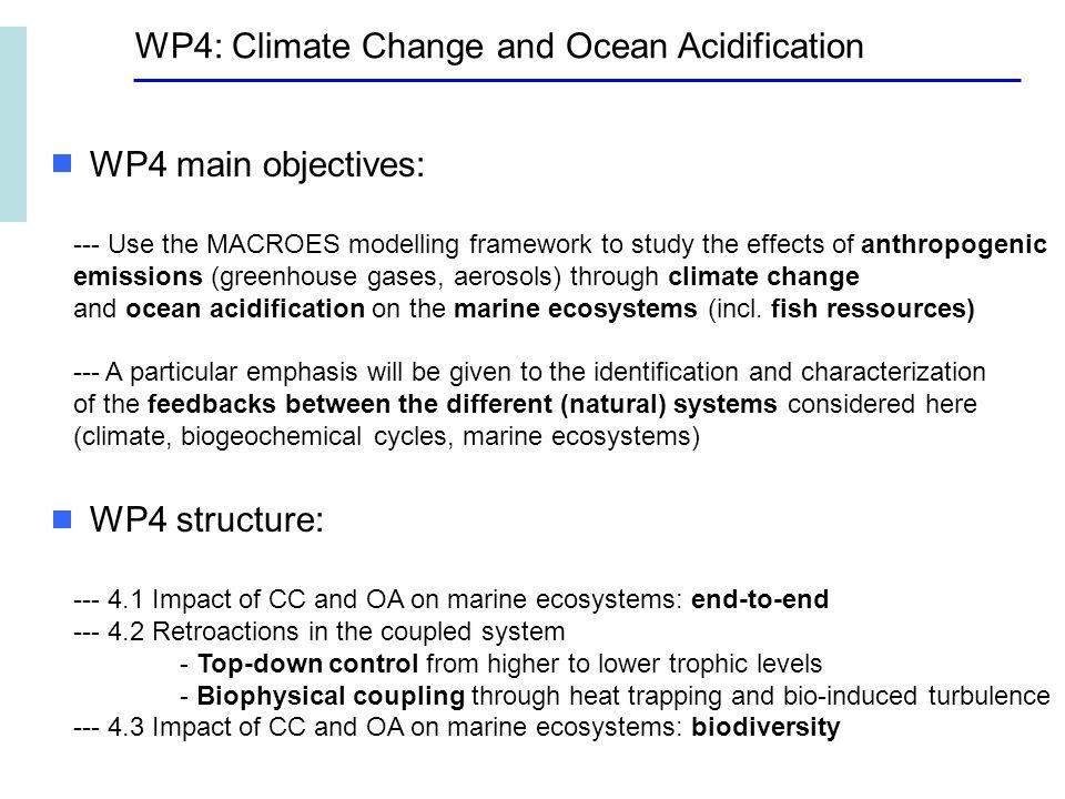 Climate Change Impact on surface chlorophyll : gyre extension Premiers Résultats avec CM5
