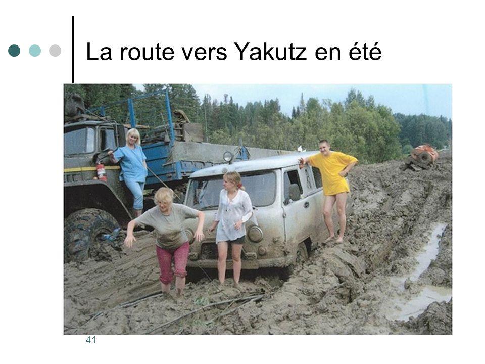 41 La route vers Yakutz en été