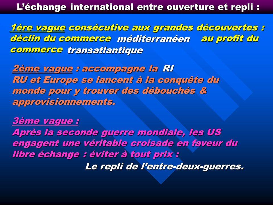 La montée des échanges internationaux de service : jusquoù ?