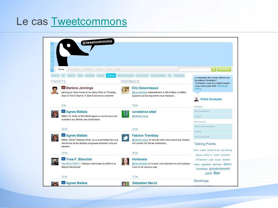 Le cas TweetcommonsTweetcommons