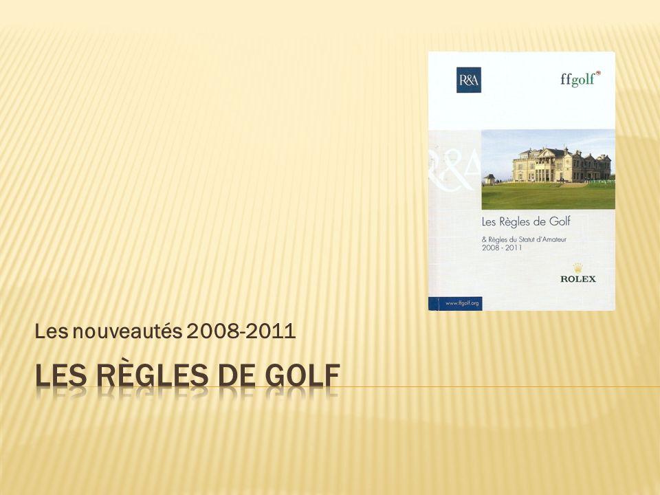Les nouveautés 2008-2011