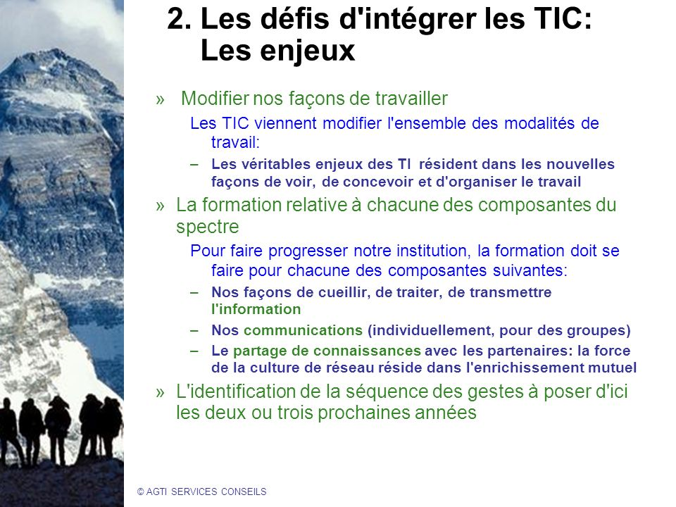 © AGTI SERVICES CONSEILS 2.