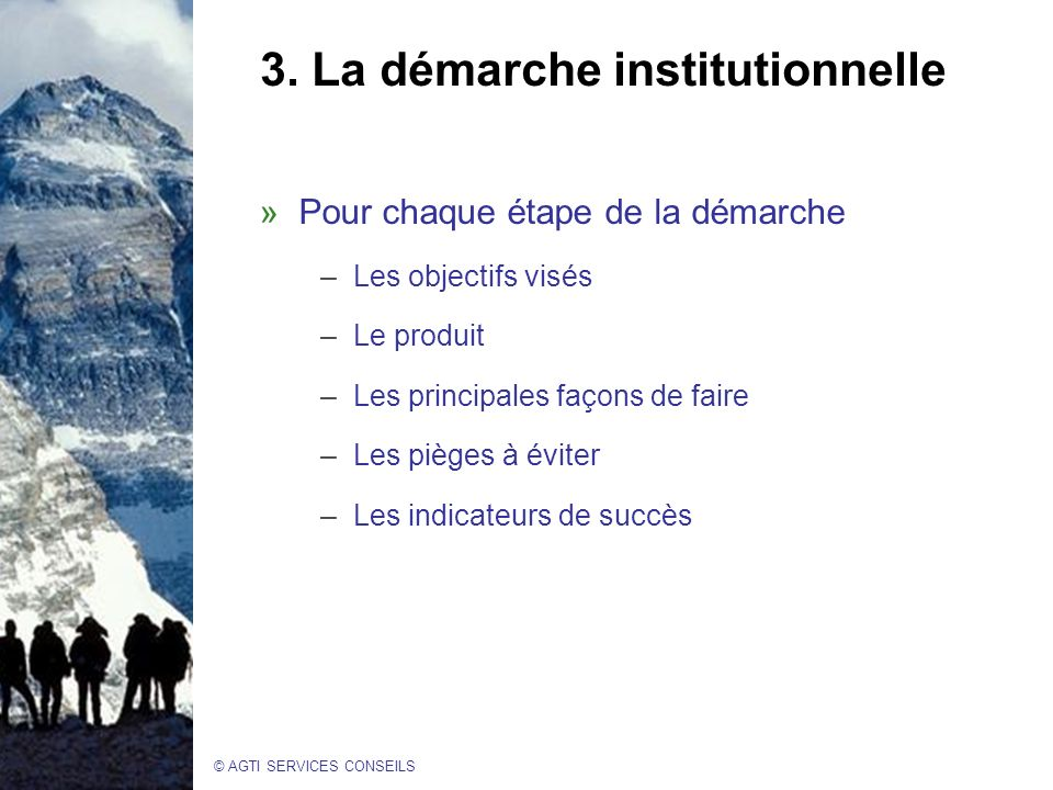 © AGTI SERVICES CONSEILS 3.