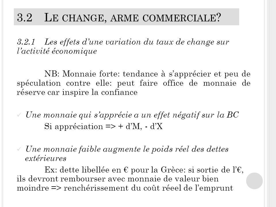 3.2L E CHANGE, ARME COMMERCIALE .