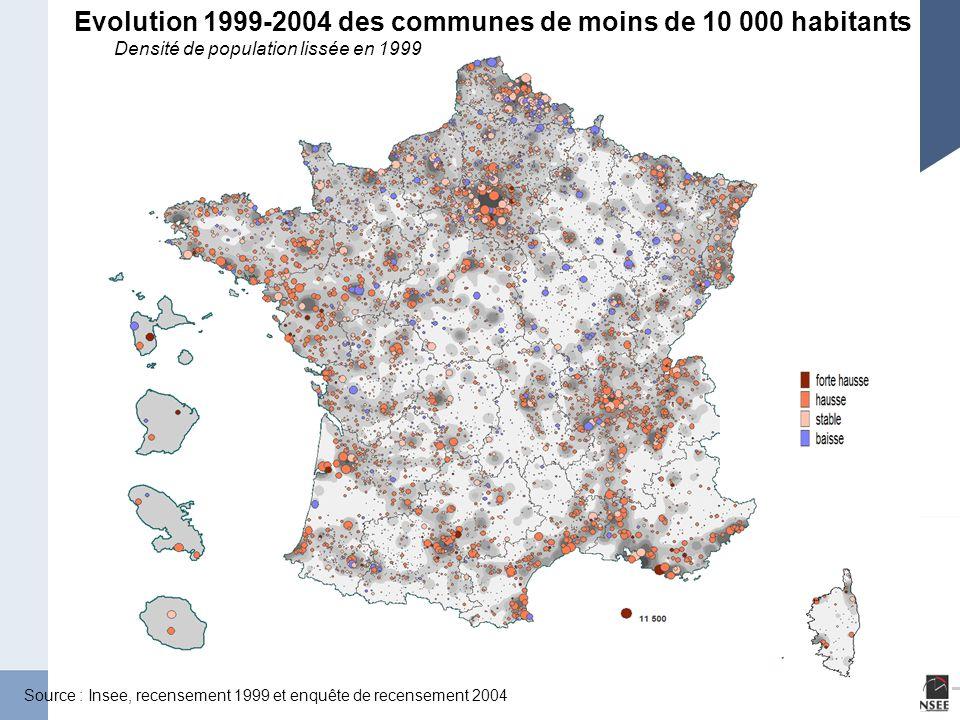 Page 7 Les migrations internes en France 9 juin 2005 Solde migratoire apparent entre 1999 et 2004