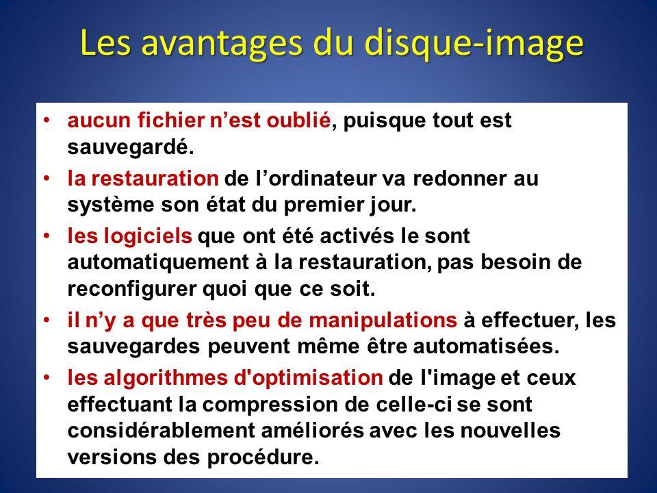 Attention on ne peut pas utiliser ce type de disque- image lorsquon a changé de matériel ( dordinateur ), il y a incompatibilité.