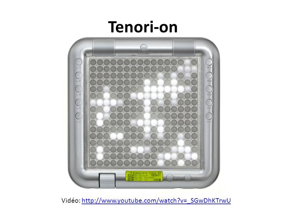 Tenori-on Vidéo: http://www.youtube.com/watch?v=_SGwDhKTrwUhttp://www.youtube.com/watch?v=_SGwDhKTrwU
