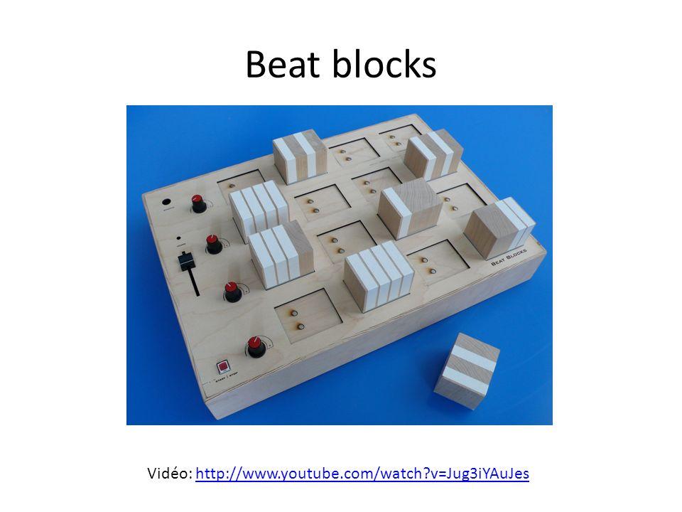 Beat blocks Vidéo: http://www.youtube.com/watch?v=Jug3iYAuJeshttp://www.youtube.com/watch?v=Jug3iYAuJes