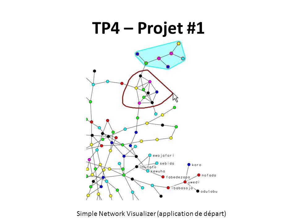 TP4 – Projet #1 Simple Network Visualizer (application de départ)