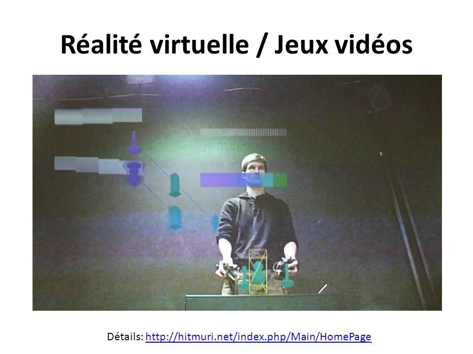 Réalité virtuelle / Jeux vidéos Détails: http://hitmuri.net/index.php/Main/HomePagehttp://hitmuri.net/index.php/Main/HomePage