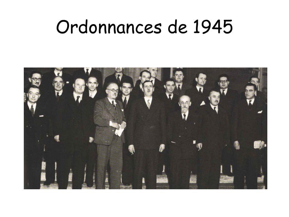 Ordonnances de 1945