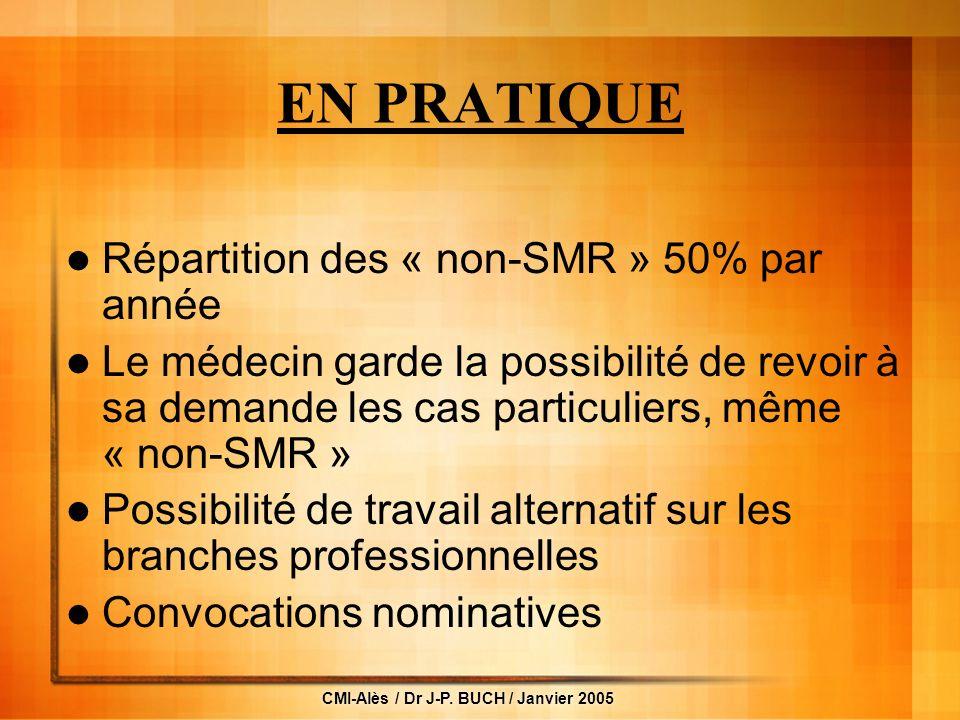 CMI-Alès / Dr J-P.
