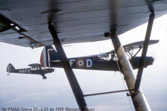 1er PMAH 12ème DI - L-21 en 1958 (Bernard Seguin)