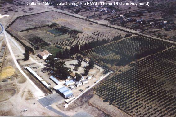 Collo en 1960 - Détachement du PMAH 11ème DI (Jean Reymond)