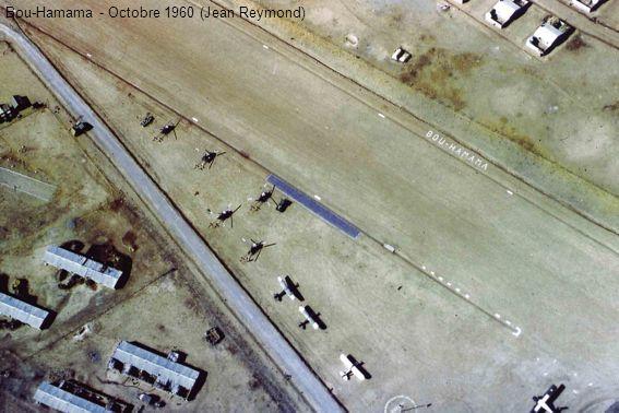 Ciel dorage à Bou-Hamama en décembre 1961 (Jean Reymond)