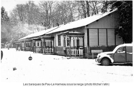 Les baraques de Pau-Le Hameau sous la neige (photo Michel Vatin)