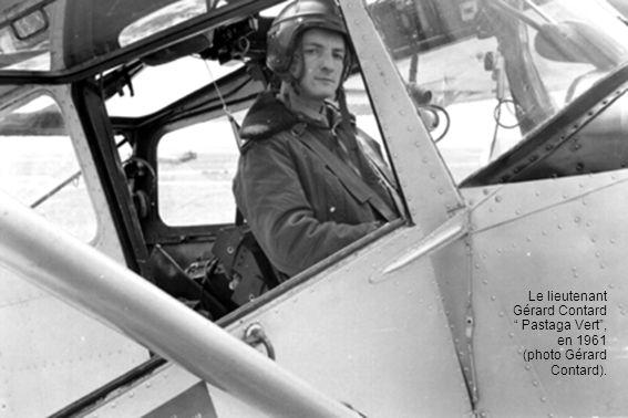 Le lieutenant Gérard Contard Pastaga Vert, en 1961 (photo Gérard Contard).