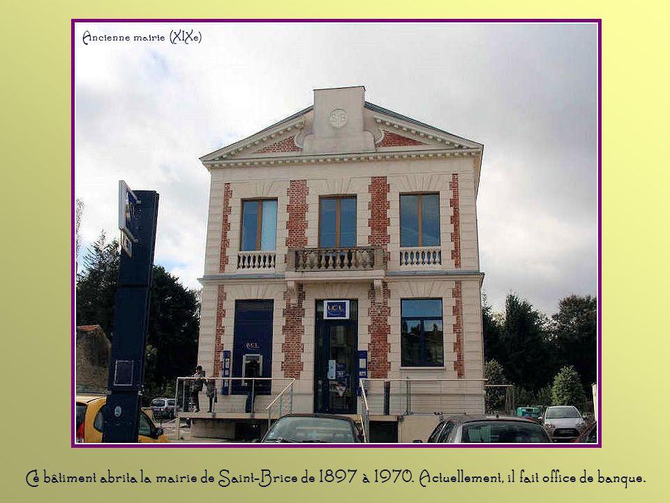 Pendant le conflit 1914-1918, Saint-Brice n'était pas très éloignée du front. Les grandes propriétés accueillaient des soldats pendant leurs permissio