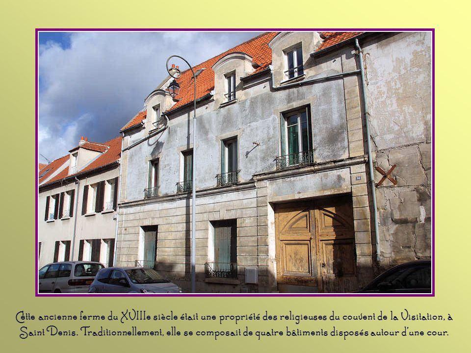 L'implantation de cette ancienne laiterie à Saint-Brice témoigne du caractère rural qu'avait encore la commune à la fin du XIXe siècle, lors de la con