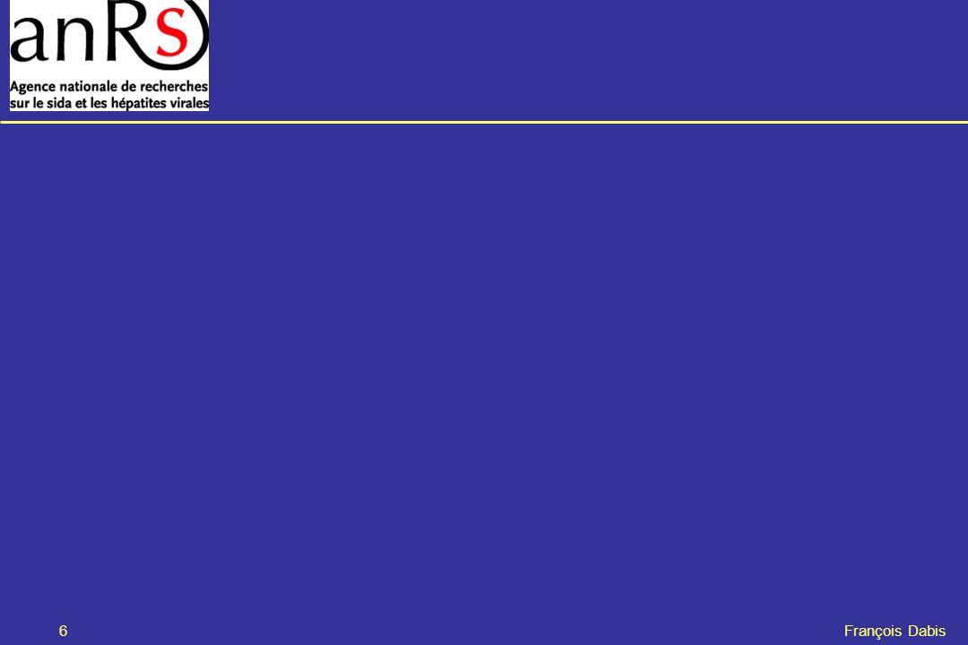 7 François Dabis Évaluation des pratiques de prévention de la transmission du VIH et leur conséquences à court-terme chez la mère et lenfant Mise en place dun observatoire national en Côte dIvoire Responsables scientifiques : Josiane WARSZAWSKI (Équipe nord) Didier koumavi EKOUEVI (Équipe sud ) Protocole révisée version de février 2008 Recherche PTME - Nord & Sud