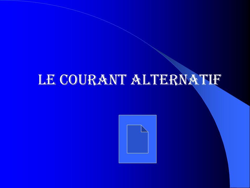 Le Courant Alternatif