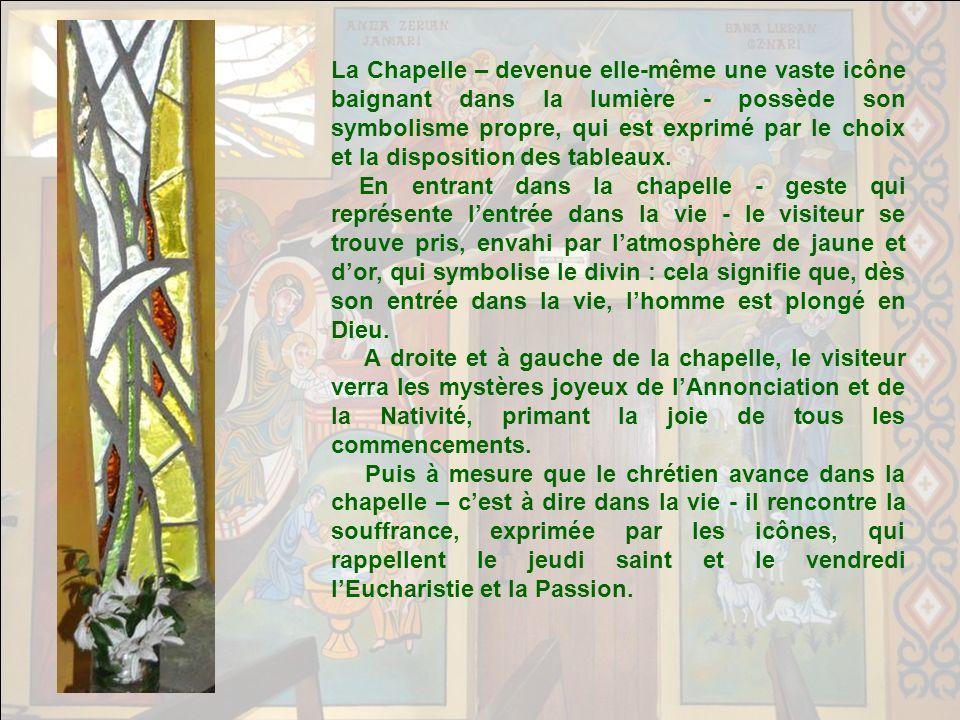 Cette chapelle a fait lobjet dun premier diaporama racontant lhistoire de sa création. Le premier titre de ce diaporama était