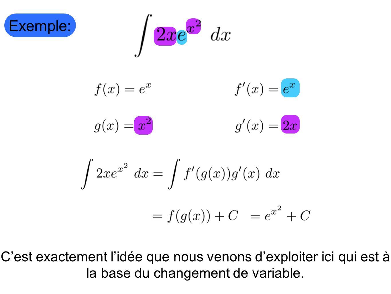 Comment faire pour bien choisir son changement de variable.