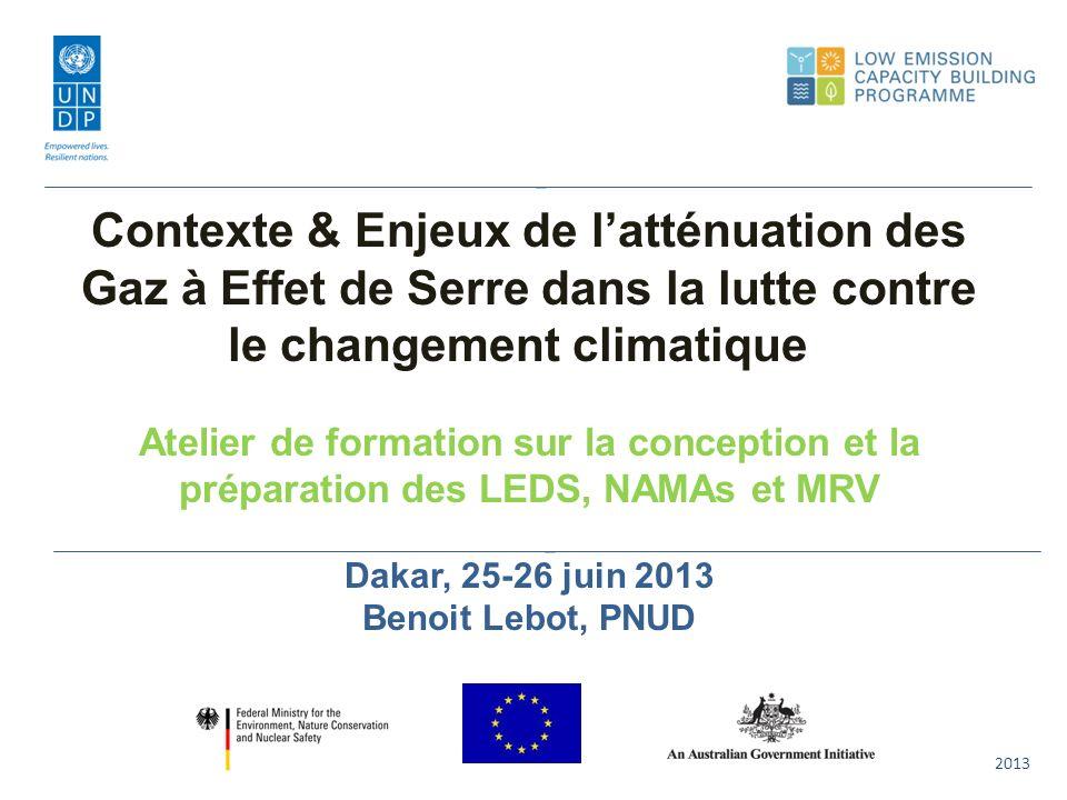 Scenarios Conventionnels & Alternatifs de lIEA World Energy Outlook 2012 20 22 24 26 28 30 32 34 36 38 201020152020202520302035 Gt 450 Scenario New Policies Scenario CO 2 abatement20202035 Activités 2% Eff.