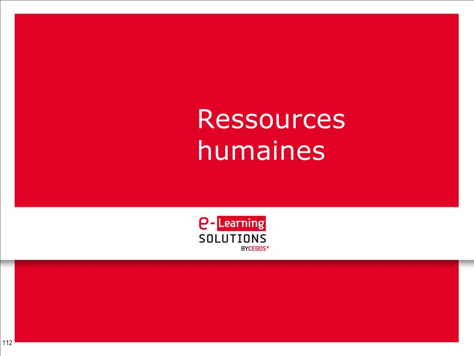 112 Ressources humaines