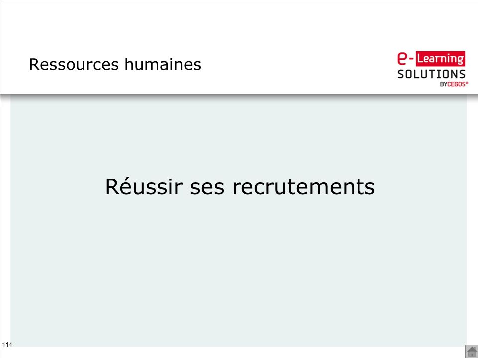114 Ressources humaines Réussir ses recrutements