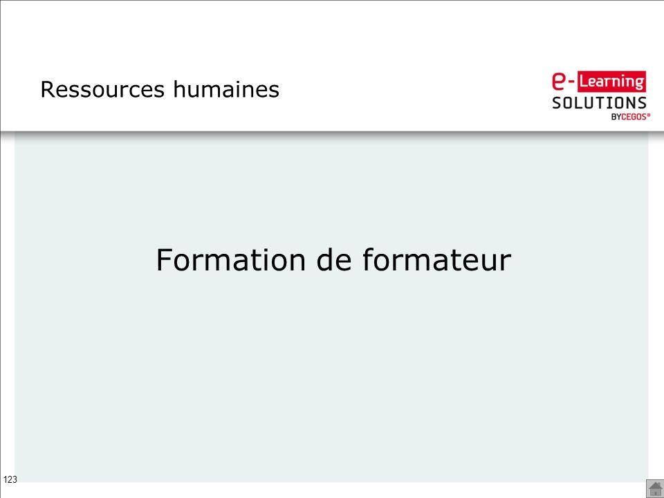 123 Ressources humaines Formation de formateur