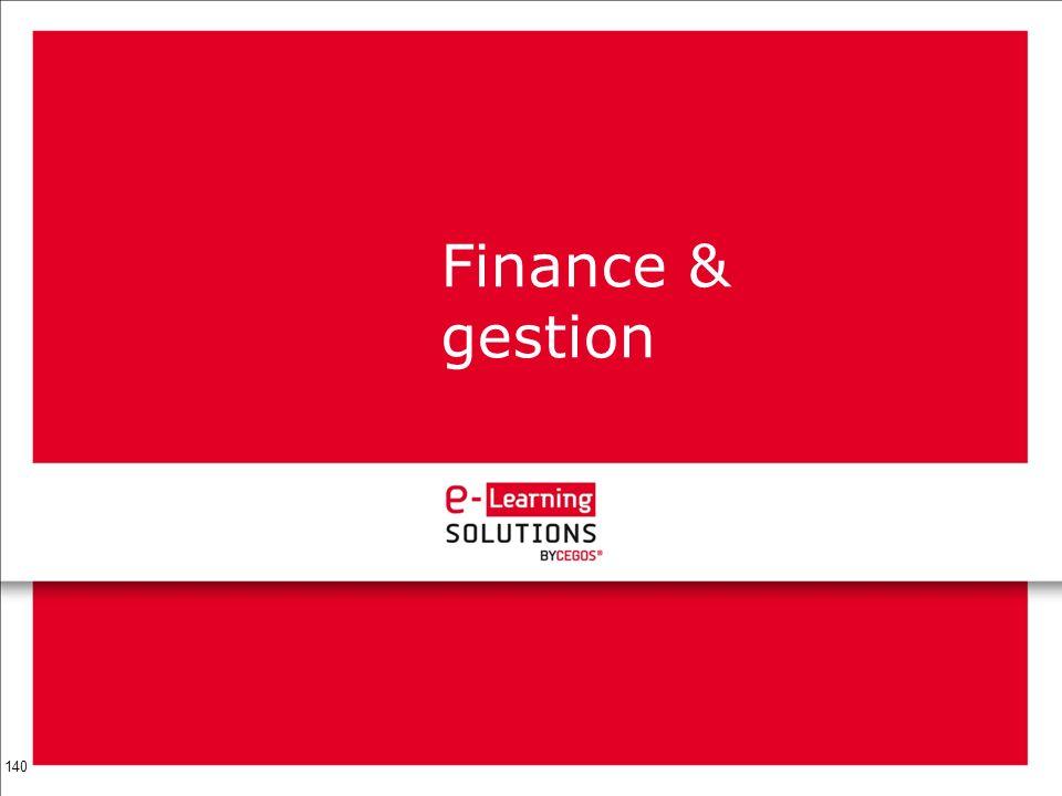 140 Finance & gestion