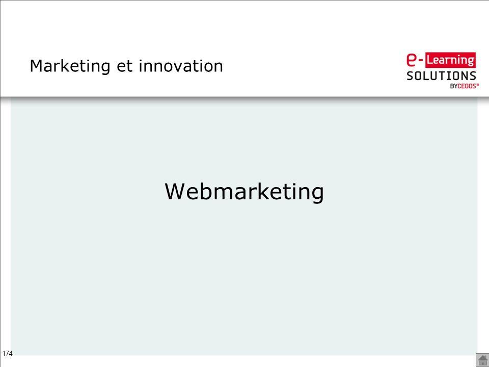 174 Marketing et innovation Webmarketing