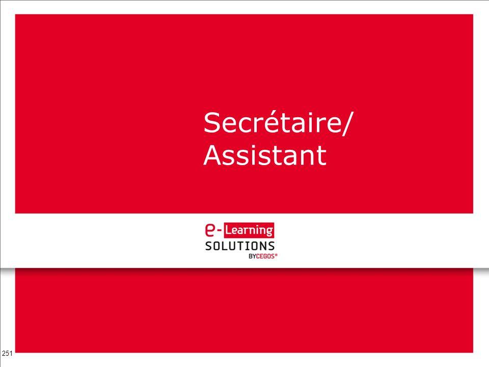 251 Secrétaire/ Assistant