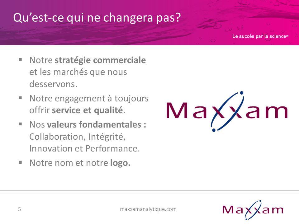 6maxxamanalytique.com Le rôle que vous jouez dans ce changement Impliquez-vous : apprenez-en plus, posez des questions, faites des suggestions.