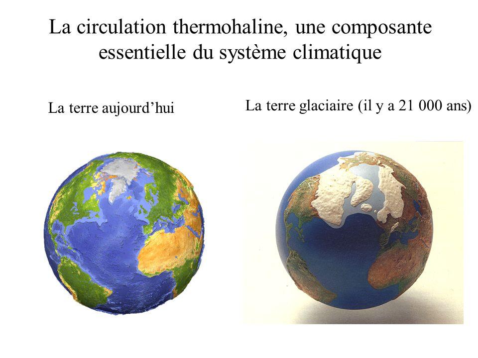 Quel futur pour la circulation thermohaline .Schmittner et al.