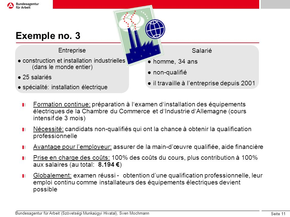 Seite 11 Exemple no.