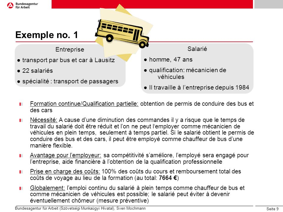 Seite 9 Exemple no.