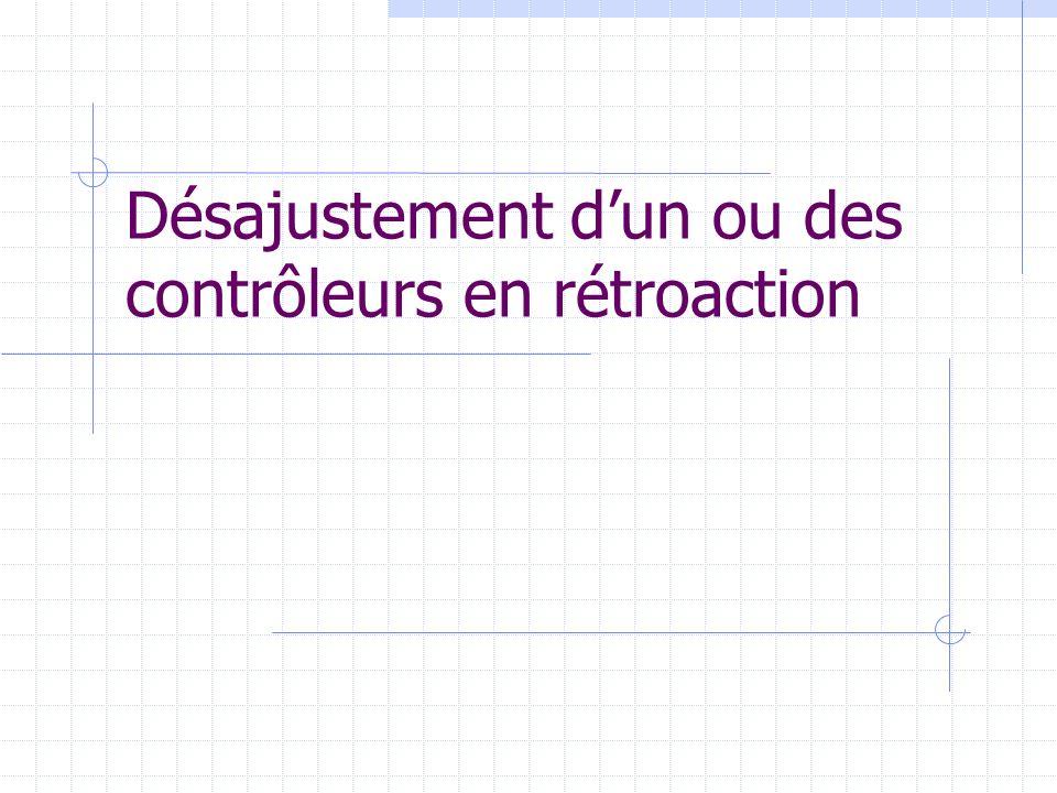 Mélangeur en ligne (suite) Donc, des équations du modèle :