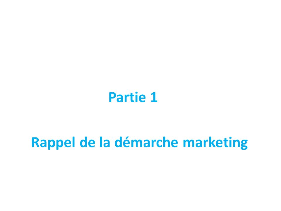 Piloter la démarche tactique Stratégie concurrentielle Marketing mix Demande, Offre Influences Où en suis-je .
