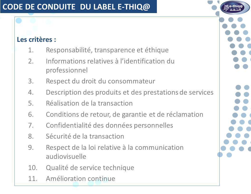 CritèresPrincipaux Points 1.