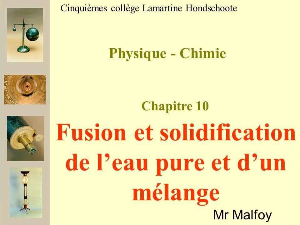 Temps030 s1 min1 min 30 s 2 min2 min 30 s 3min3 min 30 s 4 min Température eau (en °C) 2515100-2-3-3,5-4 Etat du cola Temps4 min 30 s5 min5 min 30 s6 min6 min 30 s7 min7 min 30 s8 min Température eau (en °C) -5-7-9-12 Etat du cola