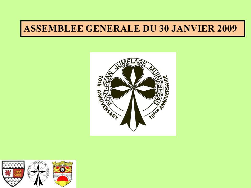 ASSEMBLEE GENERALE DU 30 JANVIER 2009