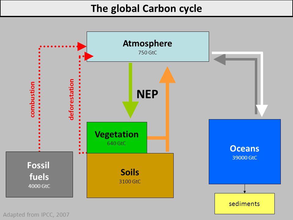 Anthropogenic CO 2 emissions IPCC WG1, 2013